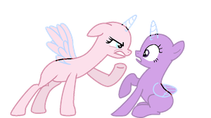 MLP I'm mad at you  Base by pinay4life001