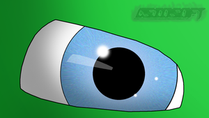 Photoshop - Drawing eye by CsioSoft