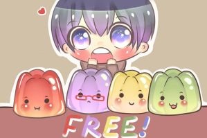Free!Iwatobi Swim Club Jelly by UsagiUsami