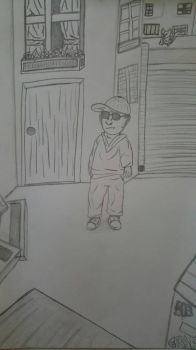 Sketchy Guy In Alley by TBadenhorst12