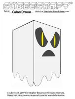 Cubeecraft - Ghost 'Ver4' by CyberDrone