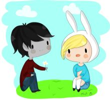 Marshall Lee Flower by michelle-lennon9
