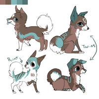 Mutt Adoptables CLOSED by MochaPupp