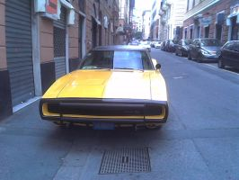 A Dodge Charger in Genoa (Italy) by Maxmilian1983