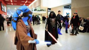 Aayla vs Revan - Gif by BloodSpiderX
