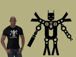 Avante Guardian Bot Tshirt by OutlawRave