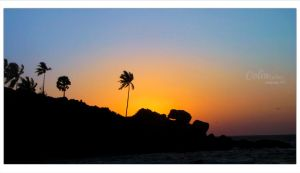 Sunset Kovalam Beach by ColinSydney