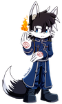 .:Blacky as Roy Mustang:. by Blacky-Doll