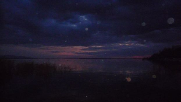 River Amur at night by PonyPixelz