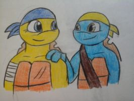 I trust you brother by NinjaTurtleGirl