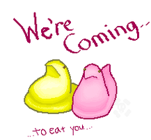 The Pixel Peeps are Coming by teh-mizzer