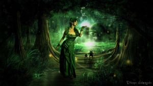 Enchated Forest Girl by DJnetZ