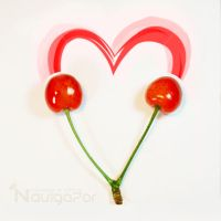 Cherry heart by NaViGa7or