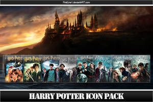 Harry Potter Icon Pack by FirstLine1