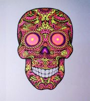 Acid Candy Skull by th451