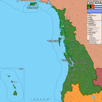 The Pacific Republic of Cascadia (Revamped) by canyon-jumper