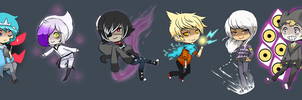 TheOldChateau-Chibis by Magicalcat