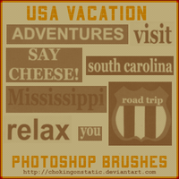 vacation brushes by chokingonstatic