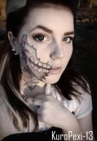 Halloween makeup by KuroPexi