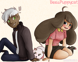 Bee and PuppyCat II by Say-Erizabesu