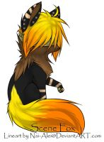 Blind Scene Fox Adoptable ~ 19 on hold by BiahAdopts