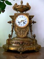Old Clock by senzostock