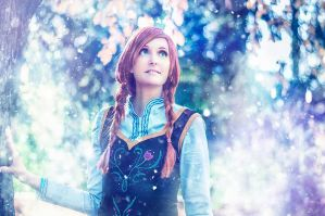Anna - Beautiful Winter by SoraPaopu
