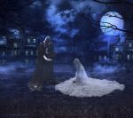 The Haunted Mansion by Shirley-Agnew-Art