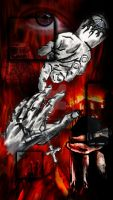 Walk With Me in Hell - Final. by Heavy-metal-ink