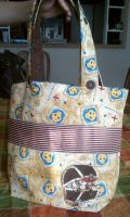 Arr Matey Booty Pirate Tote by Gd00dle