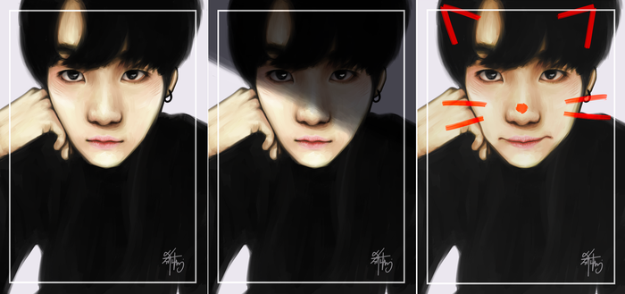 Yoongi | Me, Myself, and I by unextii