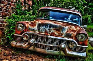 Old Car at Old Car City by SirNikon