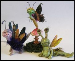 Kroulies Fantasy Littles Creatures Art OOAK by KabiDesigns
