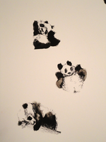 Pandas by GeorgieDeeArt