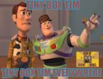 Tiny Box Tim everywhere by Pixillon12Donuts