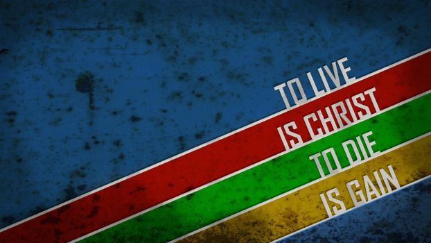 To live is Christ by Ruan3D