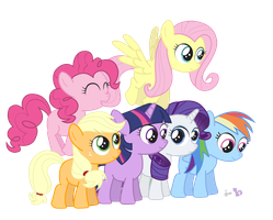 My Li'l Little Ponies by dm29