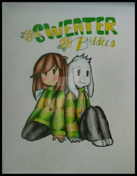 SWEATER BUDDIES   Azzy and Chara by Uniquelypeculiar