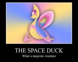 The Space Duck by acer-v