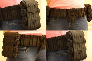 Sofia costume belt progress Gears of War Judgement by PaleFunnyGhost