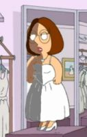 Meg Griffin shading Wedding 1 by delmardavis