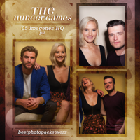 Photopack 5731 - The Hunger Games Cast by BestPhotopacksEverr