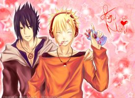 Collab- SWEET SasUnaru by sea-flow