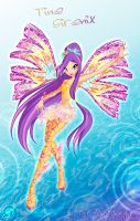 Winx 5 season Tine Sirenix by fantazyme