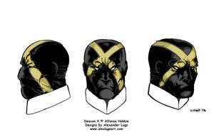 Deacon X head design with mask by aldoggartist2004