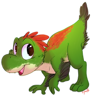 Yoshi is a dinosaur by C-Puff