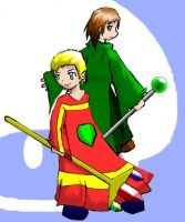 Mages of the mushroom kingdom by Clysart