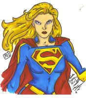 Supergirl by PDInk