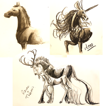 Sketchess by femalefred