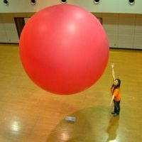 Helium filled 12 foot choloprane balloon by billoon45